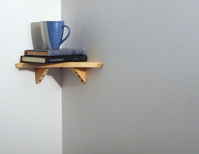 19) Make shelves for the bedroom