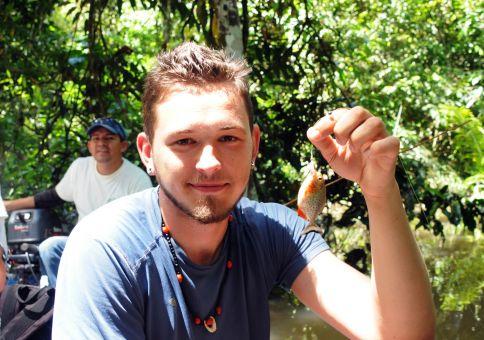 105) Catch a piranha