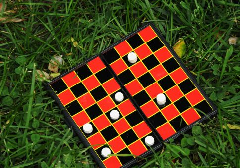 126) Play checkers in the park