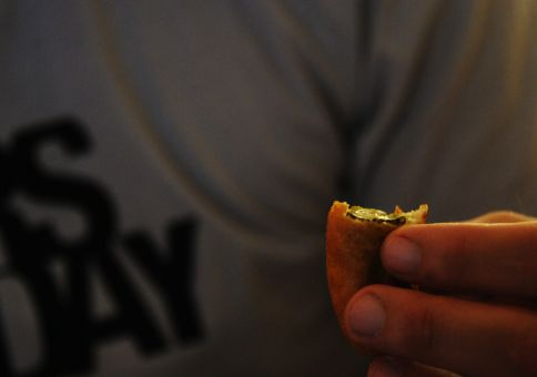 284) Make deep-fried pickles
