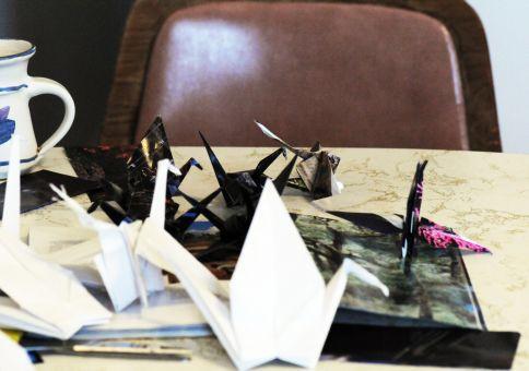9) Make a paper crane