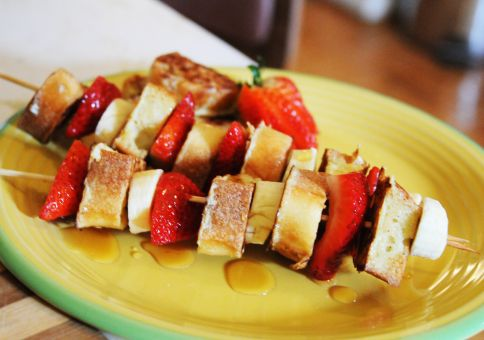 278) Make french toast kabobs