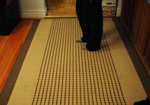 273) Buy a rug (the grown-up kind)