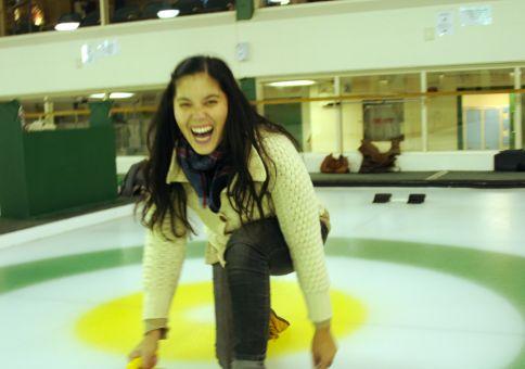 68) Go curling!