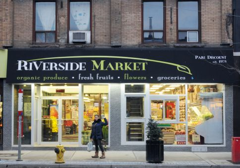 Riverside Market...our cozy local store...