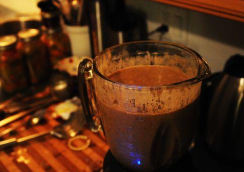 222) Make mushroom stock/soup
