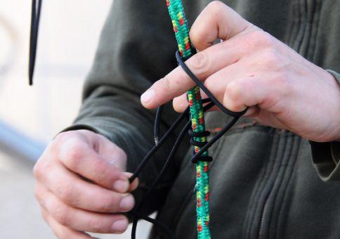 Starting a Prusak knot