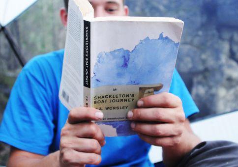 184) Read 'Shackleton's Boat Journey'