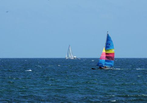 35) Ride a catamaran