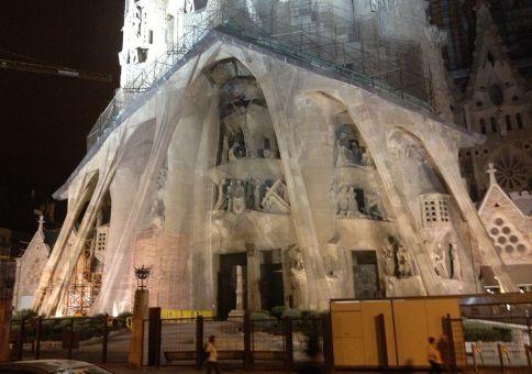 308) See Gaudi's Sagrada Família