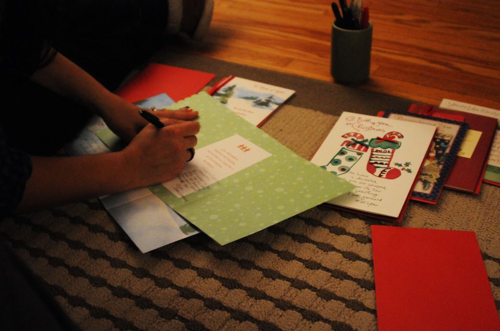 365 things in 365 days » Blog Archive » 317) Mail a Christmas card