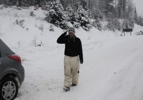 345) Snow shoe