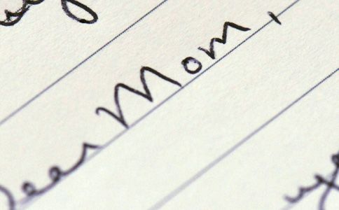 5) Hand write a letter to mom