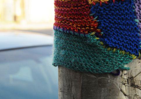 123) Yarn bomb