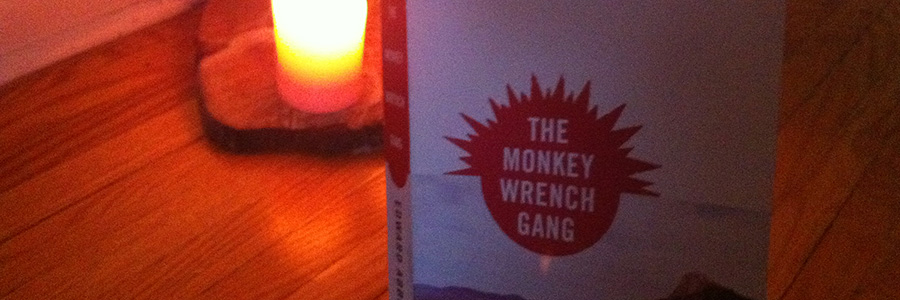 the monkey wrench gang the law breaking Monkey-wrenching also called ecotage (ecological sabotage), monkey-wrenching refers to techniques used by some radical environmentalists to stop or slow the machinery used in logging , strip mining , and other sorts of environmentally destructive activities the term was popularized by edward abbey's novel, the monkey wrench gang (1975) and the concept was developed by dave foreman in.